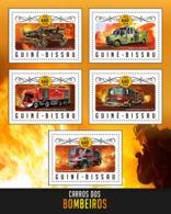 Guinea Bissau 2016 Fire Engine - Guinée-Bissau