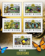 Guinea Bissau 2016  Scounting  Butterflies - Guinée-Bissau