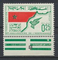 °°° MAROC - Y&T N°498 MLH NEUF - 1966 °°° - Maroc (1956-...)