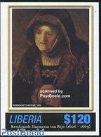 Liberia 2006 Rembrandt S/s, Mother 1639, (Mint NH), Art - Paintings - Rembrandt - Liberia