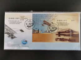 FDC ---- 2011 --- 100 YEAR OF POWERED FIGHT OF HONG KONG - Non Classés