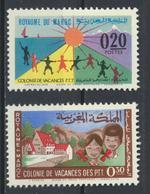 °°° MAROC - Y&T N°474/75 MNH NEUF - 1964 °°° - Morocco (1956-...)