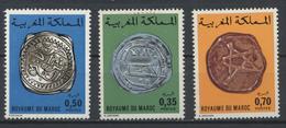 °°° MAROC - Y&T N°747/73/74 MNH NEUF - 1976 °°° - Marokko (1956-...)