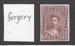 ##30, Canada, Forgery, Victoria, Penny Black - 1851-1902 Règne De Victoria