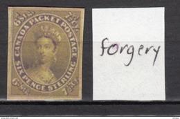 ##30, Canada, Forgery, Victoria - 1851-1902 Règne De Victoria