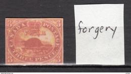 ##30, Canada, Forgery, Castor, Beaver - 1851-1902 Règne De Victoria