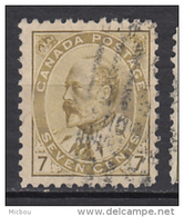 ##4, Canada, Sc 92, Édouard VII - Oblitérés