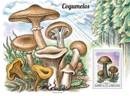 Guinea Bissau 2015  Mushrooms - Guinée-Bissau
