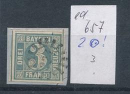 Bayern Nr. 2  O  (ed657  ) Siehe Scan - Bavière