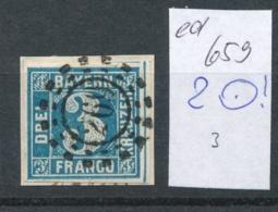 Bayern Nr. 2  O  (ed659  ) Siehe Scan - Bavière