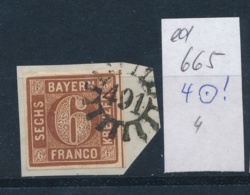Bayern -netter Stempel   (ed665  ) Siehe Scan - Bavière