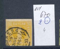 Bayern Nr. 8  O    (ed670  ) Siehe Scan - Bavière