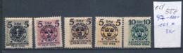 Schweden Nr. 97-100+104 *  (e558  ) Siehe Scan - Schweden
