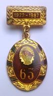 Romania, 1922-1987, Communist Pin / Badge - Youth Communist Party (UTC) Anniversary - Associations