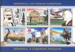 Romania 2019 / Romania, A European Treasure / Block - 1948-.... Republics