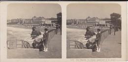 64----BIARRITZ---le Casino Municipal Et La Plage--voir Scan - Stereoscopic