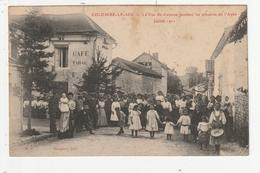 COLOMBE LE SEC - LA RUE ST ANTOINE PENDANT LES TROUBLES DE L'AUBE JUILLET 1912 - 10 - France