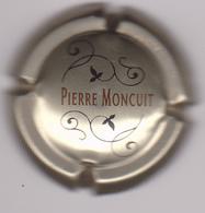 Capsule Champagne MONCUIT Pierre ( 6b , Or Et Noir ) {S03-19} - Champagne