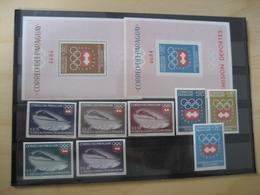 Paraguay Postfrisch Block 48/49 + Michel 1257/64 Olympic ( 2929) - Paraguay