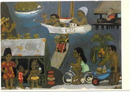 Tahiti Yves Saint Gouache 61 X 81 Cm Galerie Matamua Tahiti Edition Gaud - France - Tahiti