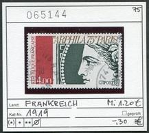 Frankreich - France - Francia -  Michel 1919 - Oo Oblit. Used Gebruikt - - France