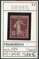 Frankreich - France - Francia -  Michel 184 - ** Mnh Neuf Postfris - - France