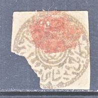 AFGHANISTAN   29  1 Sh  Gray   (o)  1876  ISSUE - Afghanistan