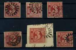BAYERN 1862 Nr 9 Gestempelt (109416) - Bavière