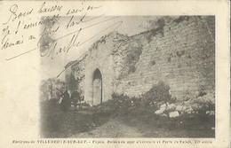 8772 CPA Pujols - Ruines Mur Enceinte Et Porte Du Palais - Autres Communes