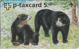 SWITZERLAND - PHONE CARD - °TAXCARD SUISSE  *** SIMONE ERNI & L' OURS *** - Suisse