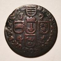 PRINCIPAUTÉ DE LIEGE. LIARD 1745. (1) BELGIQUE. BELGIUM. - Belgique