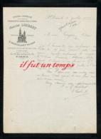 93 SAINT DENIS - USINE A VAPEUR D'ABSINTHE BITTER, LIQUEURS, FRUITS SIROP - MAISON LOUBERT G. MONTALANT SUCCESS. - 1888 - France