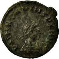 Monnaie, Arcadius, Follis, 378-383, Cyzique, TTB, Bronze, RIC:20d - 8. La Fin De L'Empire (363-476)