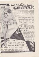 """Pub.1955  SVELTOR Méthode, Traitement Cosmétique.. """" Ne Restez Pas GROSSE..""""   TBE - Publicités"""