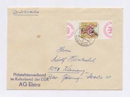 Umschlag EF MiNr 1723 Sorbische Mädchen- Tanztrachten, TSt KAMENZ 1973 - Lettres & Documents