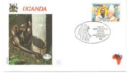 12869 - Visite JEAN PAUL II - Ouganda (1962-...)