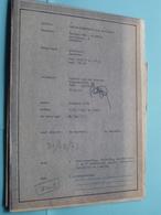 ZAVENTEM Groenveld ( VEN - PLASTRIA ) Plan > Schaal 1/50-1/200-1/500 ( Zie Foto's > Arch. Van Den Branden ) Anno 1973 ! - Architectuur