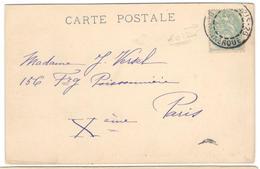 12871 - Oblitération JOUR DE L AN - Marcophilie (Lettres)