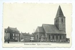Estinnes Au Mont Eglise Et Grand'Place - Estinnes