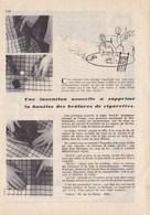 """Pub.1955  Ruban QUICK  Production """"Nigal""""  """" Supprime Trous,accrocs,d'un Coup De Fer ! """" TBE - Publicités"""