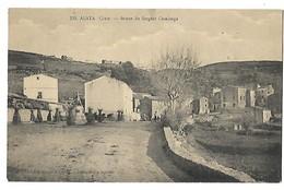 2A CORSE ALATA STATUE DU SERGENT CASALONGA CPA 2 SCANS - Autres Communes