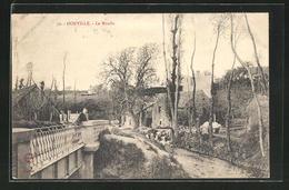 CPA Donville, Le Moulin - Non Classés