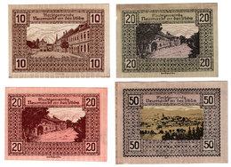 Austria, Neumarkt An Der Ybbs (Niederösterreich) Notgeld 10, 2 X 20, 50 Heller - Autriche