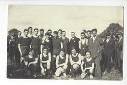 LIMOGES TURGOT ATHLETISME COUPE HENRI ESDERS 1928 CARTE PHOTO JOVE CACHET A SEC /FREE SHIPPING REGISTERED - Limoges