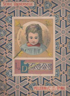 Livre PELLERIN & Cie _ IMAGERIE D'EPINAL - SERIE UNIVERSELLE - TITRE - LA DENTELLE - LE PERTHUIS Par André Valdès - 1801-1900