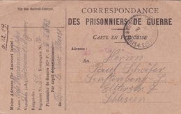 CORRESPONDANCE DES PRISONNIERS DE GUERRE Obl BUREAU DE RENSEIGNEMENTS * PARIS Du 2.12.19 - Poststempel (Briefe)