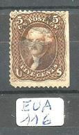 EUA Scott 76 Y&T 21 - 1847-99 General Issues