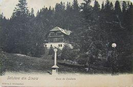 SINAIA 1910, Castel PELES, Casa De CAVALERIE CAROL I, Timbru, Cliseu Rar - Roumanie