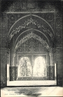 Cp Granada Andalusien Spanien, Alhambra, Mirador De La Lindaraja - España