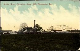 Cp Plaquemine Louisiana, Myrtle Grove Plantation Sugar Mill - Etats-Unis